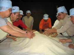 米から作る酒造り 酒造体験
